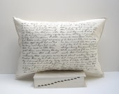 alf letter pillow