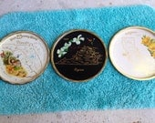 State TIN TRAY collectible souvenir choose one of nine