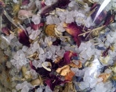 Relaxation Mineral Bath, Spa Salts, Dead Sea Salts, Bath Tea, Essential Oils, 16oz.