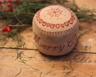Merry Christmas Pinkeep Drum *PATTERN*
