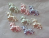 Chocolate Unicorn Cupcake Toppers