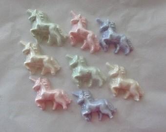 Chocolate Unicorn Cupcake Toppers