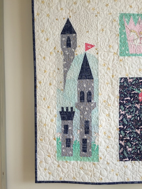 Land of Magic Castle PDF Paper Piecing Pattern