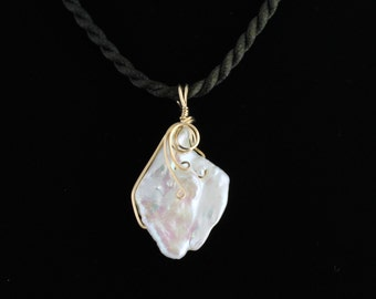 Freshwater Pearl Pendant. Listing 463930371