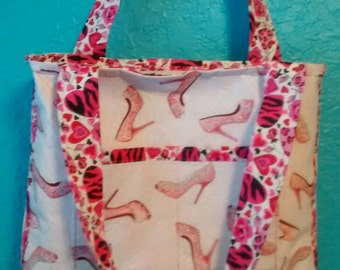 10x14 Shoulder Bag - Think Pink Collection