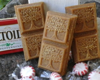 Handmade Peppermint Castile Goat Milk Soap