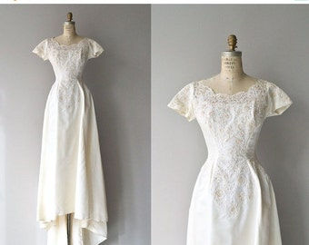 25% OFF.... Dolce Cuore wedding gown |1950s wedding dress | vintage 50s wedding gown