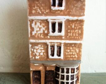 Vintage Mudlen End Building, Ceramic Cottage, Sally Lunn Shop, Made in England, Miniature Building Cottage, Mini Village, Ceramic House