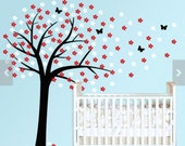 Wall Decal - Cherry Blossom Tree Decal DB118