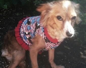 Americana Dog Blouse
