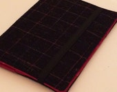 Wool Plaid Cover, Kindle Paperwhite Case, Kindle Fire Cover, Nook Glowlight Cover, Unisex, All sizes