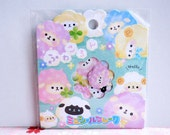 CRUX Sticker Flakes -  Fluffy Sheeps - 42 Pieces (05354)