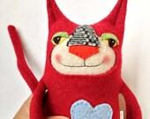 Red Sweater Cat