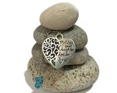 Mother and Daughter Forever Rock Cairn, Mother Daughter, Love of My Life, Desk Gift, Stacked Rocks Stones, Forever, Parent, Heart,  Love You