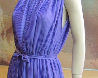 Made in Paris Carole Vermier Periwinkle Blue Sundress
