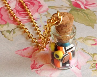 Allsorts Tiddler Bottle Necklace