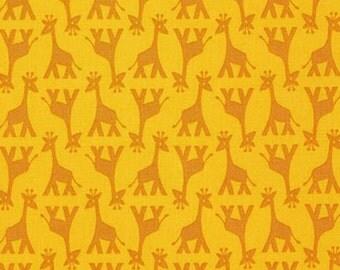 Rhoda Ruth Fabric Elizabeth Hartman Robert Kaufman AZH-15452-268 Nature Nature Giraffe Half Yard