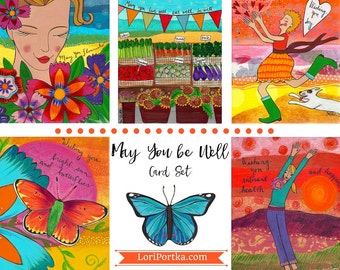 Card Set : May You Be Well #6-CS