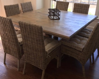 Solid Pine Dining Table 60x60