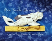 ON SALE Love and Light, Palo Santo,Holy Wood,Smudging Wands,Cleansing,Protection,Love