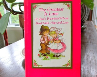 Gift for Kids The Greatest Is Love  illustrate St Pauls Wonderful Words  Childrens Gift  Diversity Inclusion Hallmark Hardcover