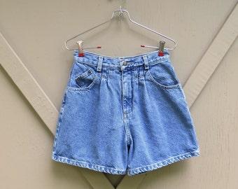 90s vintage Generra Stone Wash Denim High Waist Jean Shorts / Generra Jeanswear