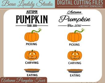 AUTUMN SVG CUTTING File, pumpkin svg file,  jack o lantern svg file, T Shirt Design, Vinyl Design, svg File, svg Format File, Fall Clip Art