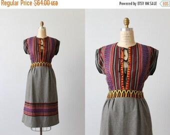 On SALE 1970s Festival Dress / 1970s Dress / Boho Dress / Bohemian / Potage