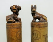 A Pair of ASIAN Ink Stamps
