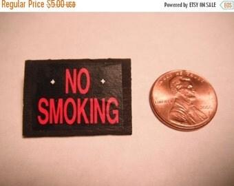 ON SALE Miniature No Smoking Sign