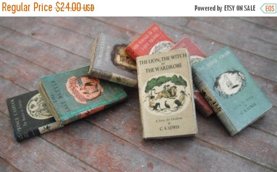 ON SALE Miniature Chronicles of Narnia Book Set