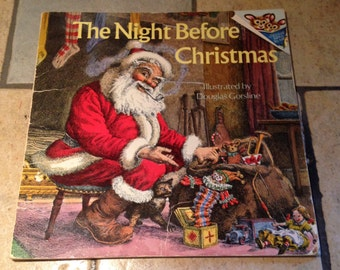 1975 The Night Before Christmas Children's Book