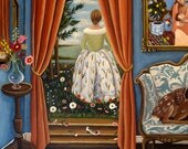 Fine art Print of Chasing Venus-  by Catherine Nolin
