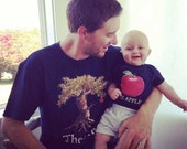 Father Son Shirts Son Bodysuits Dad tshirt combo Baby Girl and Dad T-shirts  Great for new dads  by Mumsy Goose