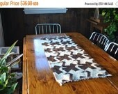 SALE GEESE Table Runner / rug wall hanging / novelty print