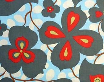 SALE Amy Butler Morning Glory fabric, 1 yard