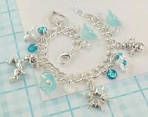 Frozen Charm Bracelet   --  Elsa  --