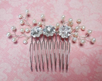 Silver Comb Princess - sterling silver