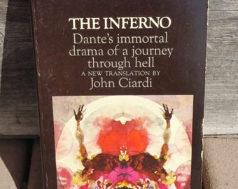 The Inferno by John Ciardi Vintage Paperback Book