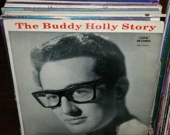 The Buddy Holly Story Vintage Vinyl Record