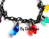 Stranger Things Necklace Christmas Light Bulbs by Dolly Cool