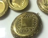 Vintage locket lot of 4