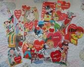 Vintage Valentine Cards Lot 2