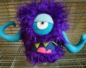 Medium purple monster with arms!