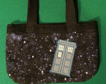 Doctor Who TARDIS space purse