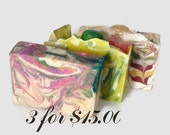 Cold Process Soap Sale - Buy 3 and Save!!  Artisan Soap, cp soap
