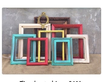 PICTURE FRAME - Picture Frame Set - Picture Frame Collection - Wood Picture Frame - Rustic Frames - Rustic Decor - CHIC