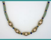 PDF Herringbone Tube Beads Tutorial (INSTANT DOWNLOAD) Tube-Tastic Necklace