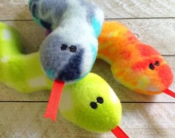 Fleece Plush Snake Rattle Rattle Snake Toy Stuffed Stuffie