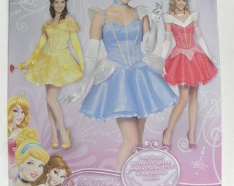 Simplicity 1553 Misses' Disney Princess Costumes   new uncut size 14-22  2013